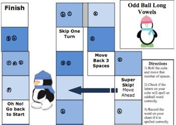 old, ost, olt, ild, ind oddball game