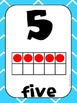 Common Core Number Posters: Full Size & Half Size {Bright Colors Theme}