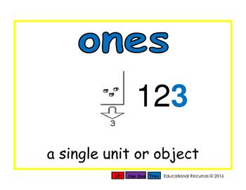 ones/unidades prim 2-way blue/rojo