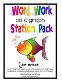 oo Digraph Word Work Literacy Station Pack