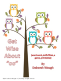 """oo: Get Wise About """"oo"""""""