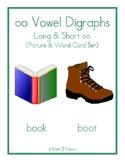 oo Vowel Digraphs - Long & Short oo - oo Picture Cards - oo