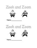 oo Zook and Zoom Early Emergent Reader Book