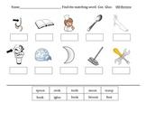 "oo diphthong practice worksheets- words with ""oo"""