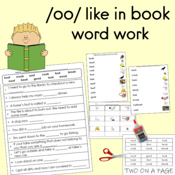 /oo/ like in book word work