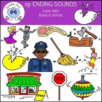op Ending Words Clip Art