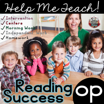 op Word Family: Intervention, Homework, Morning Work, Centers,