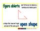 open shape/figura abierta geom 1-way blue/verde