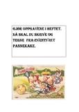 oppgaver fra eventyret pannekaka.