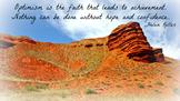 optimism Hellen Keller quote