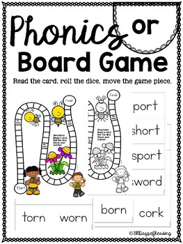 or PHONICS BOARD Game