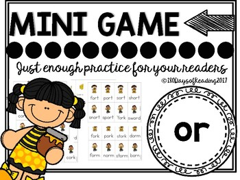 or Phonics Game