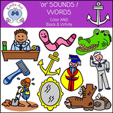 or Sounds / Words Clip Art