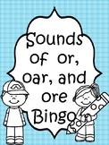 or, oar, and ore bingo