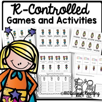 R-Controlled Games