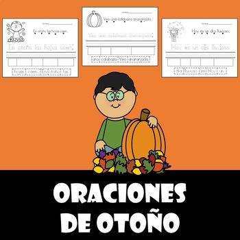 oraciones de otono (Fall sentences-Spanish)