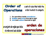 order of operactions/orden de operaciones prim 1-way blue/rojo