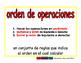 order of operactions/orden de operaciones prim 2-way blue/rojo