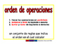 order of operactions/orden de operaciones prim 2-way blue/rojo