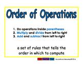 order of operactions/orden de operaciones prim 2-way blue/verde