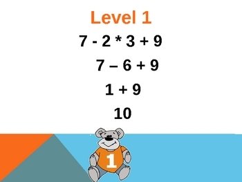 Order of operations: Ready to Use Lesson