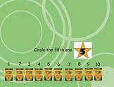 ordinal numbers active inspire flip chart