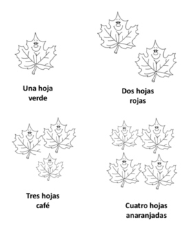 otoño: cuenta las hojas