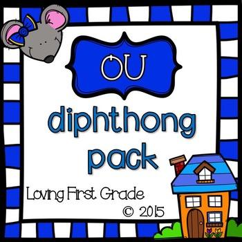 ou Diphthongs Pack