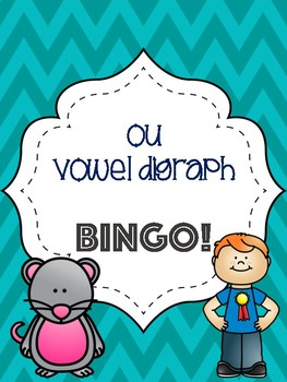 ou Vowel Digraph Bingo [10 playing cards] by Lauren McIntyre | TpT
