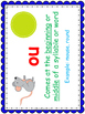 ou and ow diphthong sorting and spelling activities