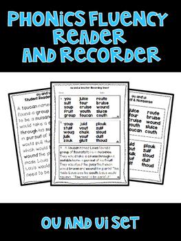 ou and ui - Phonics Fluency Assessment