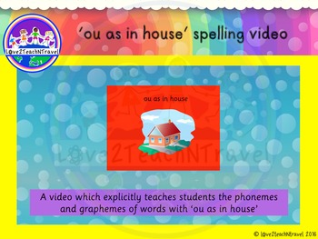 THRASS ou as in house explicit teaching video