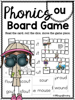 ou ouch PHONICS BOARD Game