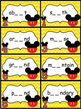 ou & ow Word Work Activities