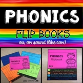 ou, ow as in cow | Phonics Flip Book | Journeys Yeh-Shen