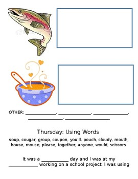ou words /oo/ and /ow/ sounds