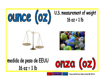 ounce/onza meas 1-way blue/rojo