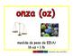 ounce/onza meas 2-way blue/rojo