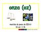 ounce/onza meas 2-way blue/verde