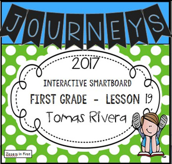 Journeys 2017 Lesson 19 First Grade Interactive Smartboard Slides