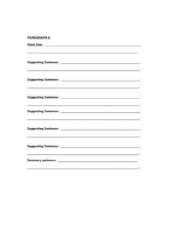 outline for 5-paragraph essay