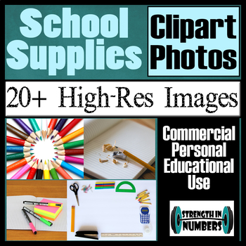 over 20 School Supplies Photos High Resolution Commercial Photographs Clip Art
