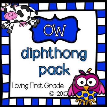ow Diphthongs Pack