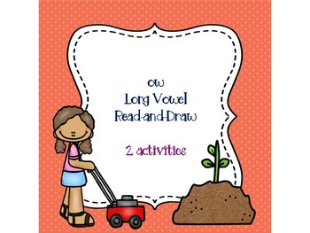 ow Long Vowel Read-and-Draw