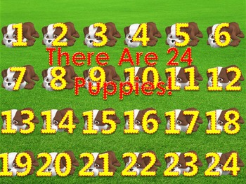 How Many Do You See 5 PowerPoint Games (21 - 25 Numbers)