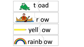 ow and oa Literacy Centers - Reading Street Unit 4 Week 3