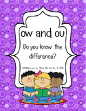 ow and ou: Do You Know the Difference?