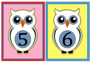 owl flashcards