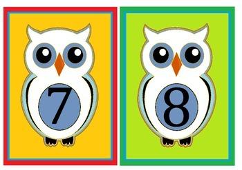 owl flashcards