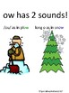 ow/ow Winter Themed Phonics Board Game, Sort, Sound Poster